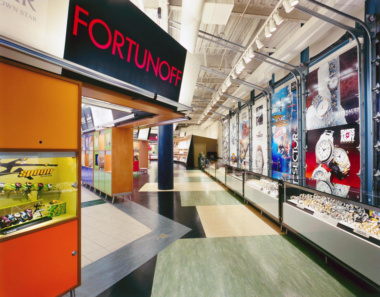 Fortunoff Watch Boutique Biber Architects
